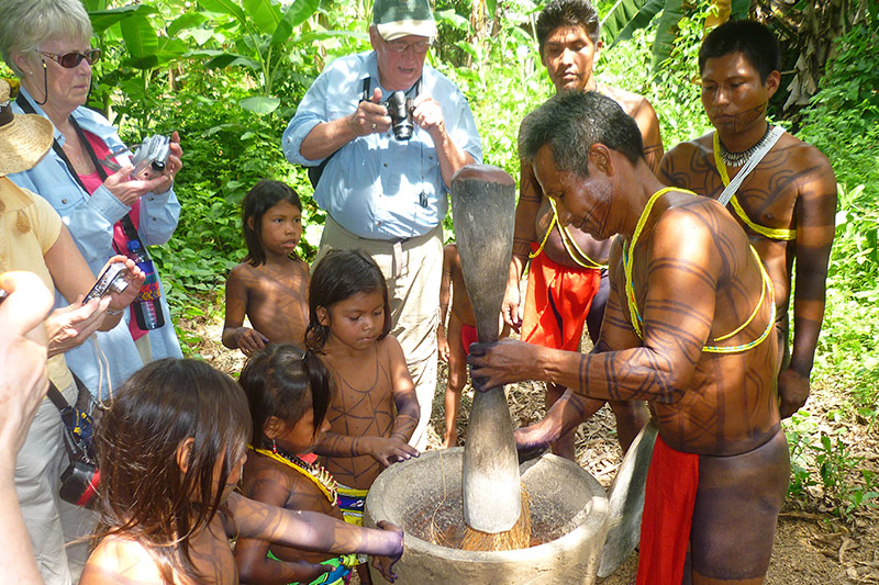 A day with the Embera Indians